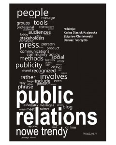 Okładka - Public relations. Nowe trendy